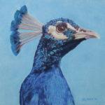 Pastellbild von Eva Jelinek: Zwiesprache